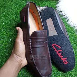 Quality and Strong Clarks Mens Loafers in Size 42 | Shoes for sale in Lagos State, Ikeja