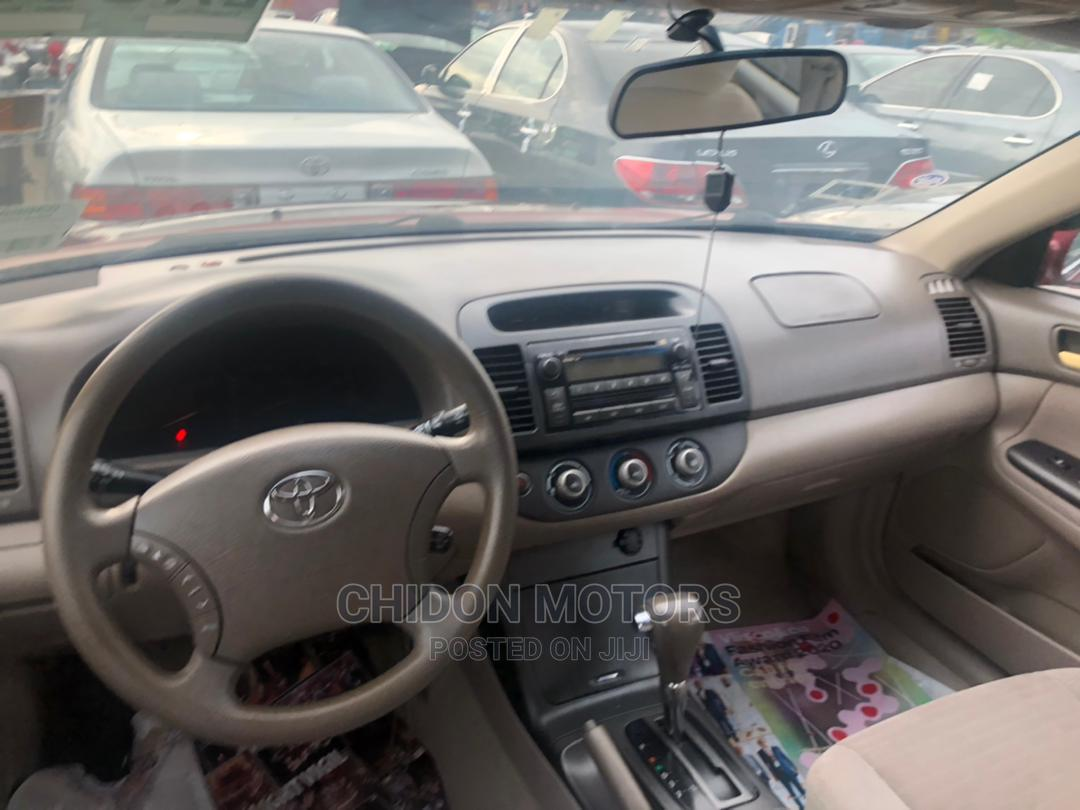 Toyota Camry 2006 Red | Cars for sale in Apapa, Lagos State, Nigeria