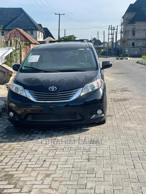 Toyota Sienna 2012 Limited 7 Passenger Black | Cars for sale in Lagos State, Surulere