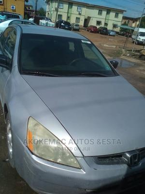 Honda Accord 2004 Automatic Silver | Cars for sale in Lagos State, Ikeja