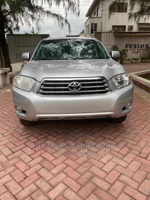 Toyota Highlander 2009 V6 Silver   Cars for sale in Lagos State, Magodo