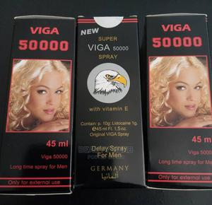 50000 Super Viga Delay Spray for Men to Last Longer in Bed | Sexual Wellness for sale in Abuja (FCT) State, Katampe
