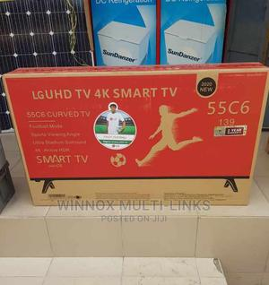 Lg 55 Inches Smart Full Hd 4k Tv | TV & DVD Equipment for sale in Lagos State, Lekki