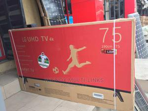 LG 75 Inches Smart Internet Connection 4k Tv | TV & DVD Equipment for sale in Lagos State, Lekki
