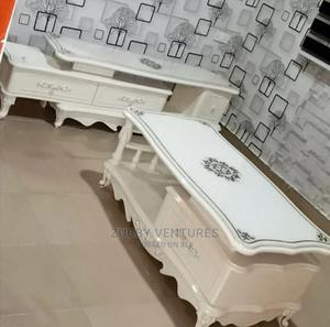Imported Top Quality Exotic Royal TV Stand and Center Table   Furniture for sale in Abuja (FCT) State, Abaji