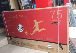 Smart Internet Connection Lg 75 Inches 4k Tv | TV & DVD Equipment for sale in Lagos State, Ajah
