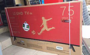 Original Brand New Lg 75 Inches Smart 4k Tv | TV & DVD Equipment for sale in Lagos State, Ikeja