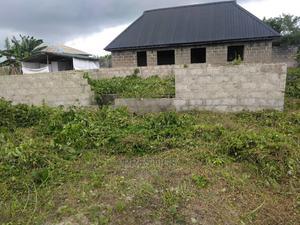 Half Plot of Land, With 3 Bedroom Foundation. | Land & Plots For Sale for sale in Ogun State, Ado-Odo/Ota