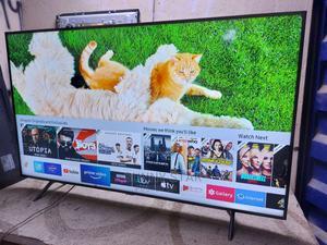 "Almost New 65"" Samsung Uhd 4k Smart TV 2019/2020 Model   TV & DVD Equipment for sale in Lagos State, Ojo"