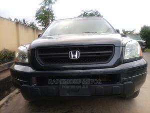 Honda Pilot 2005 EX-L 4x4 (3.5L 6cyl 5A) Green | Cars for sale in Lagos State, Ikeja