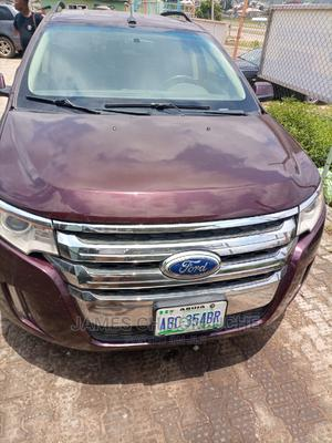 Ford Edge 2010 SE 4dr FWD (3.5L 6cyl 6A) Red | Cars for sale in Abuja (FCT) State, Kubwa