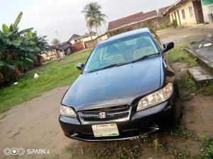 Honda Accord 2002 Coupe Black | Cars for sale in Rivers State, Obio-Akpor