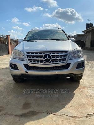 Mercedes-Benz M Class 2009 ML350 AWD 4MATIC Silver   Cars for sale in Lagos State, Ifako-Ijaiye