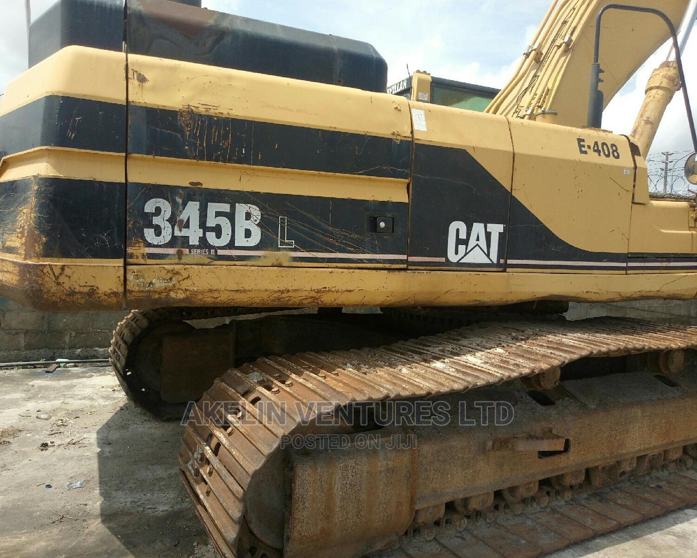 345 BL Excavator