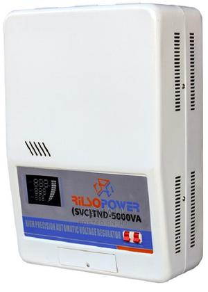 5kva Wall Mount Single Phase Servo Motor Voltage Stabilizer   Solar Energy for sale in Lagos State, Ojo