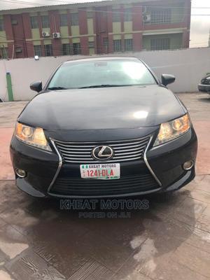 Lexus ES 2015 350 FWD Black | Cars for sale in Lagos State, Ogudu
