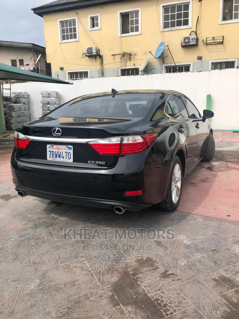 Lexus ES 2015 350 FWD Black | Cars for sale in Ogudu, Lagos State, Nigeria