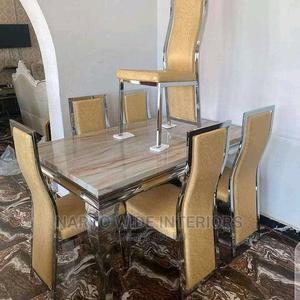 6 Seaters Marble Dining Table | Furniture for sale in Lagos State, Ojo