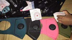 Washable Nose Mask With Valve | Safetywear & Equipment for sale in Lagos State, Ikeja