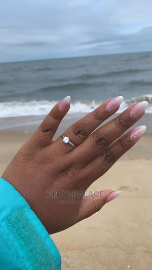 Beautiful Sterling Silver Engagement Ring   Wedding Wear & Accessories for sale in Lagos State, Alimosho