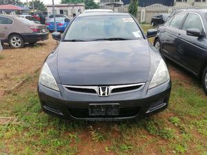 Honda Accord 2007 Sedan EX-L V-6 Automatic Gray | Cars for sale in Abuja (FCT) State, Gwarinpa
