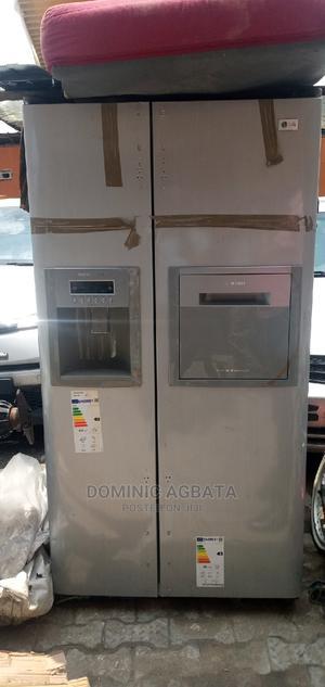 Lg Double Door Fridge | Kitchen Appliances for sale in Lagos State, Ojota