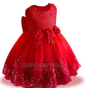 A Red Ceremonial Ball Gown | Children's Clothing for sale in Lagos State, Surulere