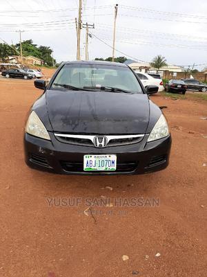 Honda Accord 2006 Sedan EX Automatic Black | Cars for sale in Abuja (FCT) State, Kubwa