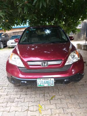 Honda CR-V 2008 2.4 EX 4x4 Automatic Red | Cars for sale in Lagos State, Kosofe
