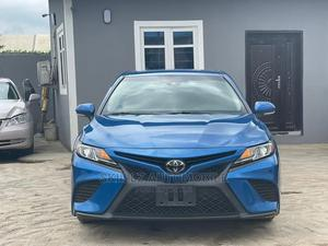 Toyota Camry 2018 SE FWD (2.5L 4cyl 8AM) Blue | Cars for sale in Lagos State, Abule Egba