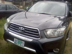 Toyota Highlander 2009 Black | Cars for sale in Abia State, Osisioma Ngwa