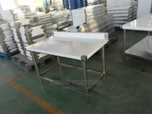 Stainless Steel Working Table   Restaurant & Catering Equipment for sale in Lagos State, Ojo
