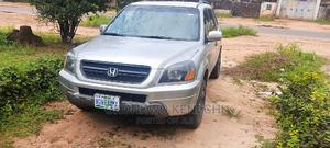 Honda Pilot 2004 EX-L 4x4 (3.5L 6cyl 5A) Silver | Cars for sale in Imo State, Owerri