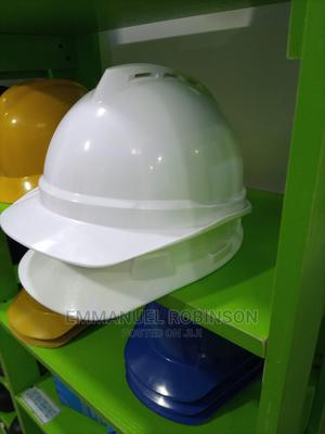 MSA Perforated Safety Helmet   Safetywear & Equipment for sale in Lagos State, Ogba