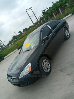 Honda Accord 2007 Black   Cars for sale in Lagos State, Ajah