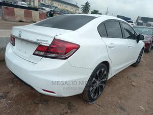 Honda Civic 2013 Sedan EX White   Cars for sale in Lagos State, Ikeja