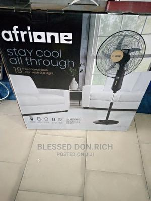 """Afrione Rechargable Fan 18""""   Home Appliances for sale in Rivers State, Port-Harcourt"""