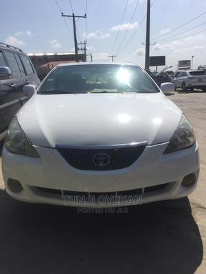 Toyota Solara 2004 3.3 Coupe White | Cars for sale in Lagos State, Ibeju