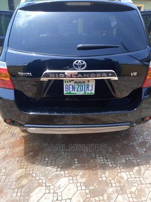 Toyota Highlander 2009 V6 Black   Cars for sale in Edo State, Benin City
