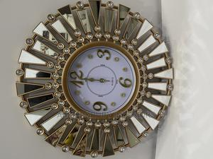 Gold Mirror Clock | Home Accessories for sale in Lagos State, Lekki