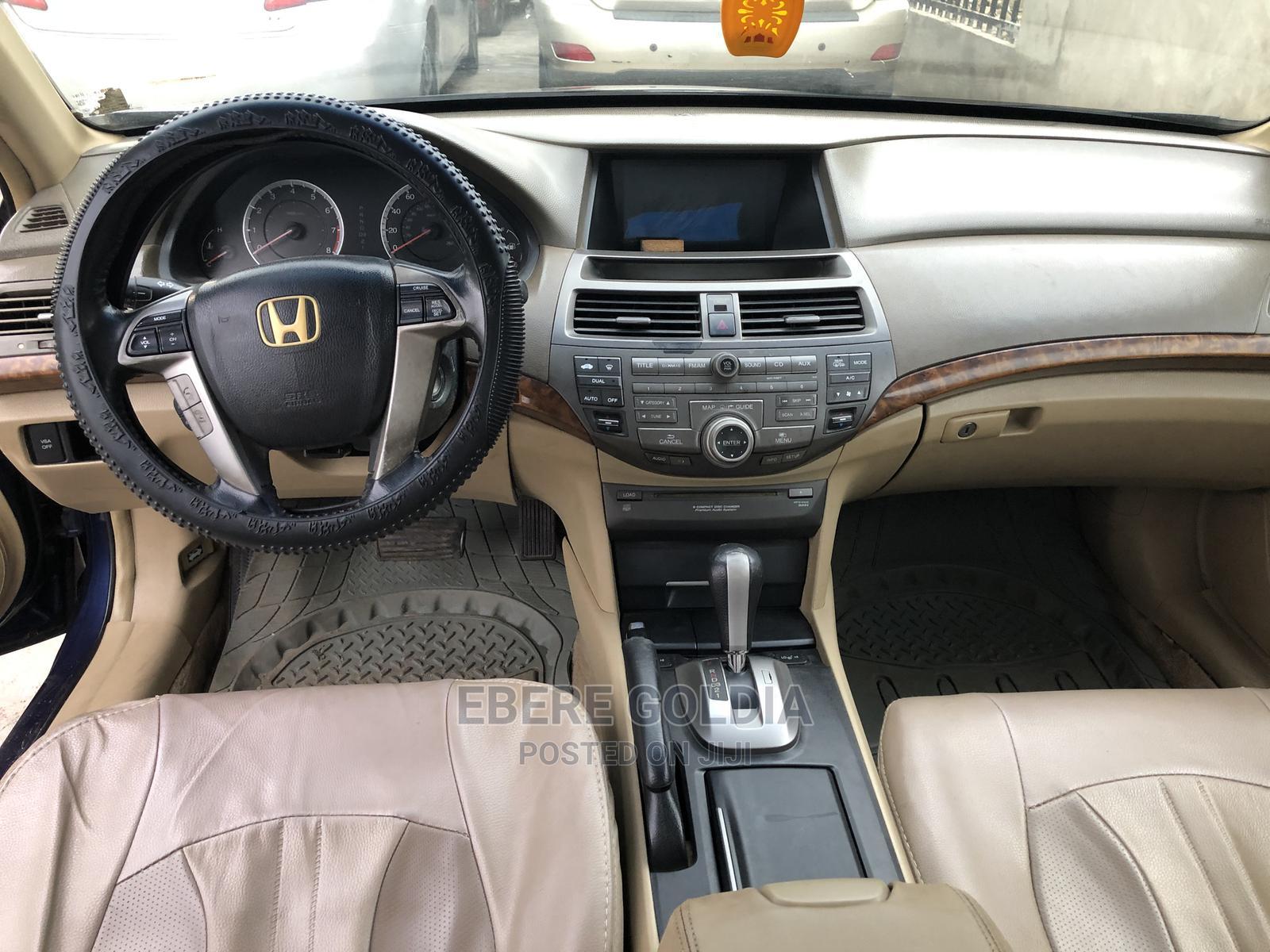 Honda Accord 2009 2.0 I-Vtec Automatic Blue | Cars for sale in Ikeja, Lagos State, Nigeria
