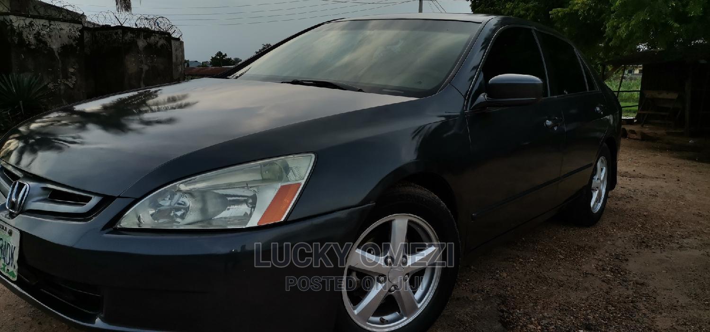 Honda Accord 2005 Sedan LX Automatic Gray | Cars for sale in Gwagwalada, Abuja (FCT) State, Nigeria