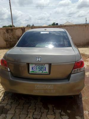 Honda Accord 2008 2.4 EX Automatic Gold   Cars for sale in Abuja (FCT) State, Lokogoma