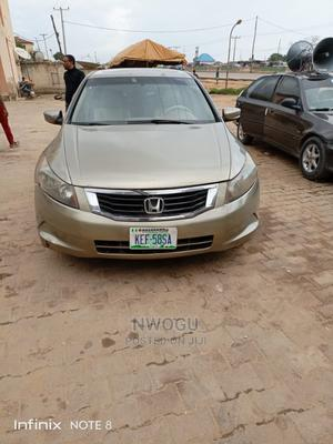 Honda Accord 2008 2.4 EX Automatic Gold | Cars for sale in Abuja (FCT) State, Lokogoma
