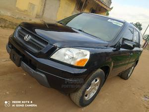 Honda Pilot 2004 EX-L 4x4 (3.5L 6cyl 5A) Black | Cars for sale in Lagos State, Alimosho