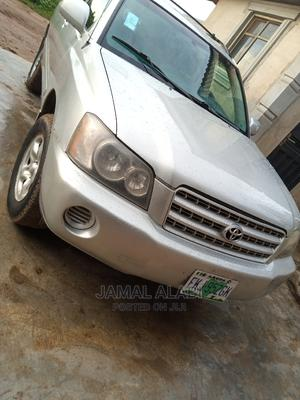 Toyota Highlander 2003 Base AWD Gray   Cars for sale in Ogun State, Ifo