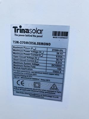 Trinasolar Pannel 270watt Mono   Solar Energy for sale in Abuja (FCT) State, Central Business District