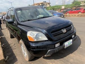 Honda Pilot 2004 EX-L 4x4 (3.5L 6cyl 5A) Black | Cars for sale in Oyo State, Ibadan