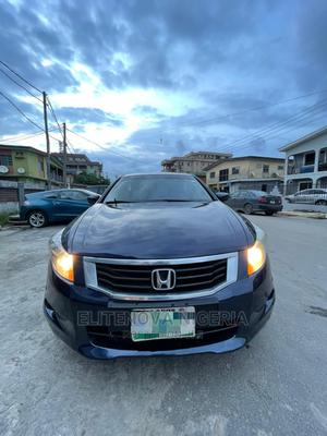 Honda Accord 2008 2.4 EX-L Automatic Blue | Cars for sale in Lagos State, Surulere