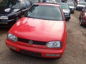 Volkswagen Golf 2002 Red | Cars for sale in Lagos State, Apapa